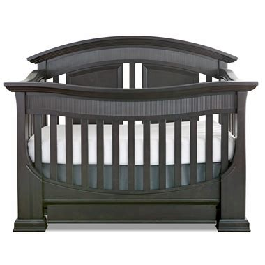 Baby Appleseed Chelmsford 3 In 1 Convertible Crib In Slate Baby Appleseed Crib