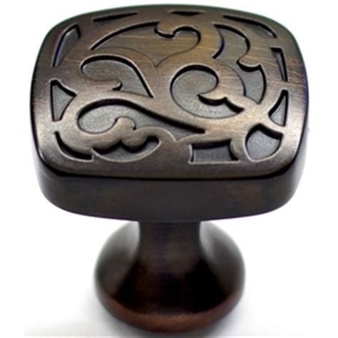 shop allen roth aged bronze cabinet knob at lowes