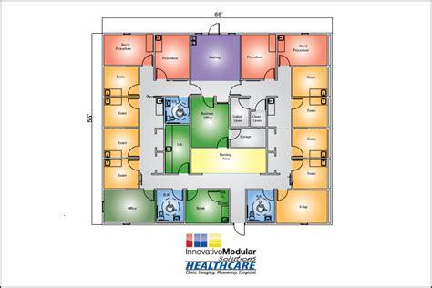floor plan car 55x66 urgent care building floorplan innovative modular