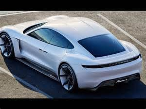 New Electric Cars For 2017 New Porsche Electric Car Porsche Mission E 2017