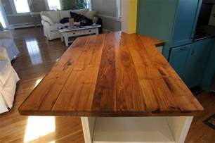 Pedestal Table Rectangle Longleaf Lumber Reclaimed Chestnut Countertop