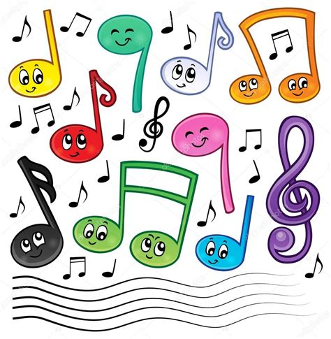 imagenes tema musical imagen de dibujos animados m 250 sica notas tema 1 archivo
