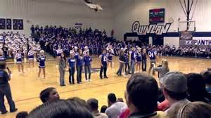 quinlan ford high school 2012 homecoming pep rally