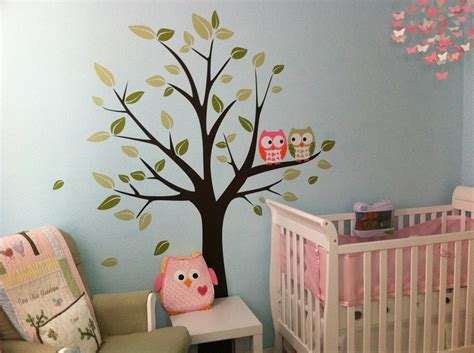 Owl Nursery Decor Ideas 17 Nursery Wall Decals And How To Apply Them Keribrownhomes