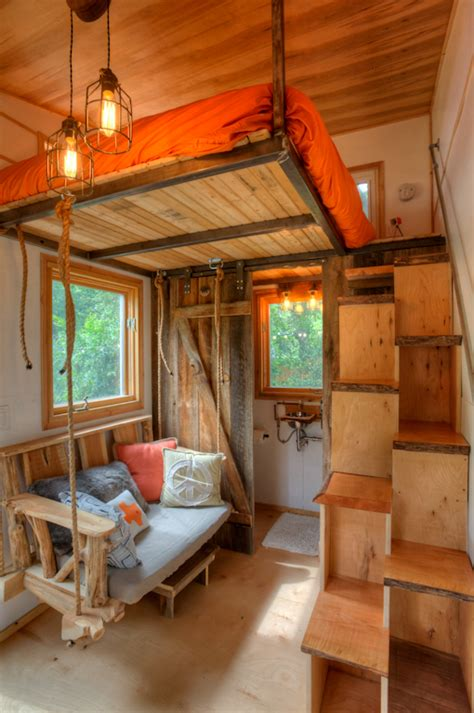 interior of small house rocky mountain tiny houses