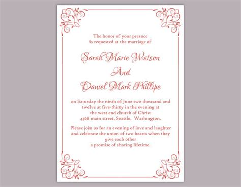 word templates for wedding invitations wedding invitation templates wblqual