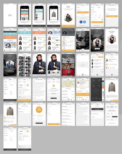sketchbook x app for free shopping app template storex sketch resource for
