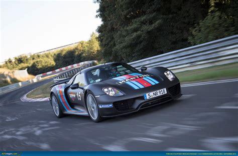 fastest porsche 918 ausmotive com 187 porsche 918 spyder claims n 252 rburgring lap