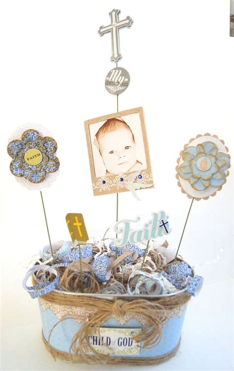 baptism centerpieces for boy 1000 ideas about boy baptism centerpieces on