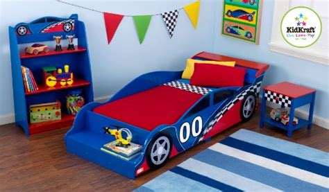 kidkraft racecar toddler bed race car toddler bed in the uae see prices reviews and