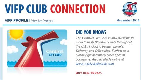 Carnival Gift Card - 29 unique carnival cruise line gifts detland com