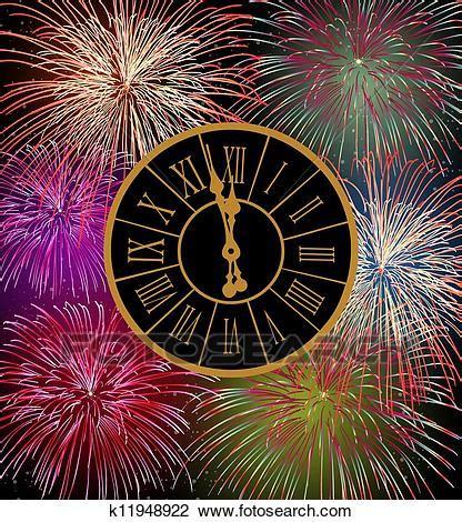 clipart anno nuovo clipart felice anno nuovo fireworks vigilia k11948922