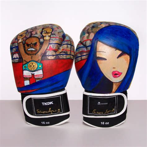 Handmade Boxing Gloves - boxing tokidoki