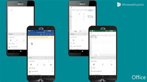android office app android vs windows 10 mobile pi 249 app 232 meglio