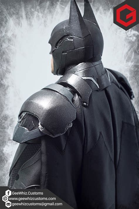 Batman Arkham Custom Repaint geewhiz customs custom cape armor repaint for neca arkham batman