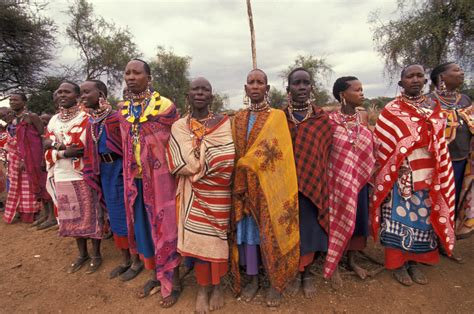 trending ladies wear kenya a group of women in traditional clothing group of women