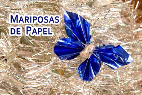mariposas hechas de papel crepe you tub mariposas de papel faciles de hacer youtube