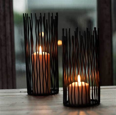 high quality home interior candles 1 retired home gentel times black bohemian style metal desk stand candle