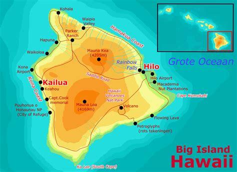 hawaii big island map pin hawaii big island largest of 4028 square on