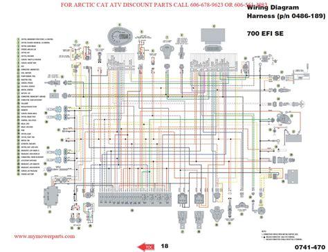 Wrg 7447 Arctic Cat 440 Snowmobile Wiring Diagrams