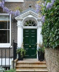 green front door hunter green front door homes exteriors pinterest