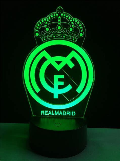 imagenes de river y real madrid real madrid logo logo touch 3d colorful nightlight l
