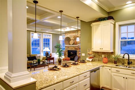 Model Homes Interiors Interior Photos Of The Cottage And Towne Model Homes Venango Trails