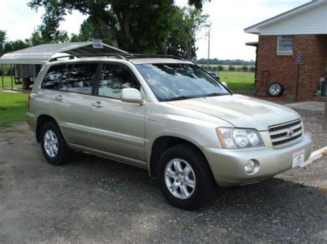 automobile air conditioning service 2003 toyota highlander lane departure warning purchase used 2003 toyota highlander limited sport utility 4 door 3 0l in statesboro georgia