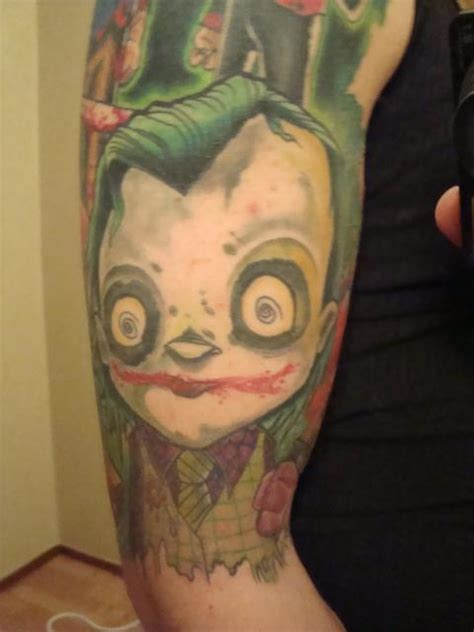 joker tattoo deviantart joker tattoo by aircap on deviantart