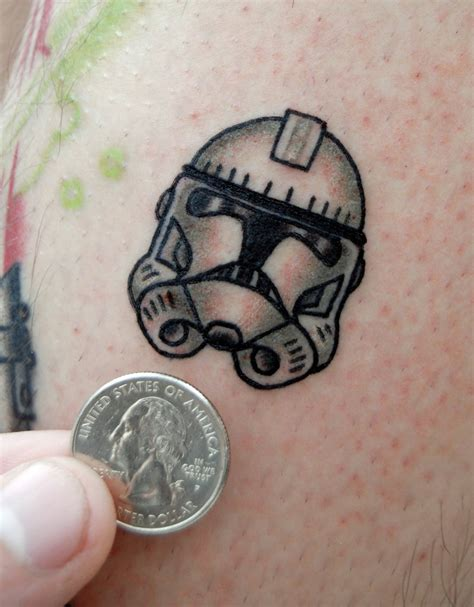 south shore tattoo fyeahtattoos clone trooper helmet done by swan at