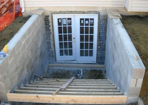 basement walk out doors add a basement entrance walkout 11 jpg master bedroom