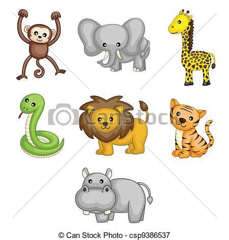 ilustraciones vectoriales de jirafa caricatura vector ilustraciones vectoriales de salvaje animales caricatura