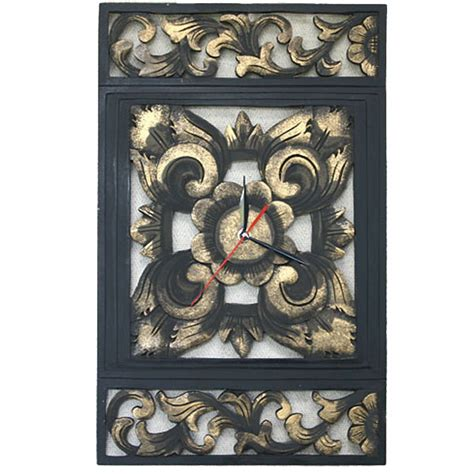 Shoo Anjing レトロな壁掛け時計 アンティークレリーフ