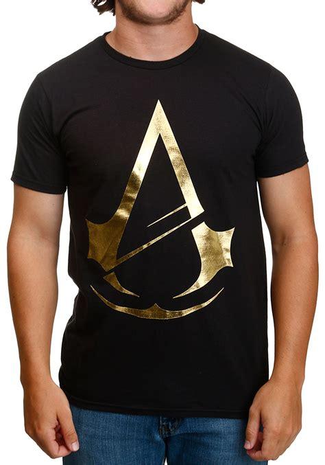 Tshirt Assassins Creed assassins creed gold foil t shirt