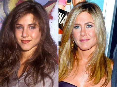 Did Aniston Get Implants by Aniston From Who Got A Nose To