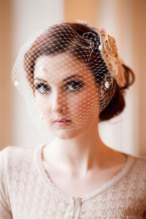 wedding hair updos with birdcage veil vintage wedding hairstyles images photos pictures