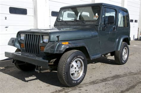 manual cars for sale 1994 jeep wrangler interior lighting no reserve 1994 jeep wrangler s sport utility 2 door 2 5l 4 cyl 5 speed manual classic jeep