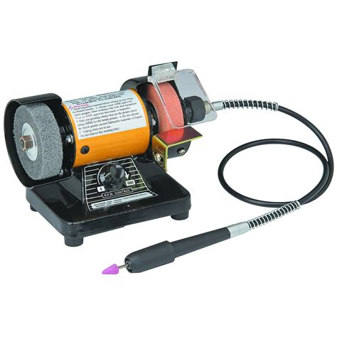 Bench Grinder With Flex Shaft