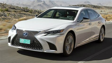 white lexus interior 2018 white lexus ls 500h awd driver focused cockpit and