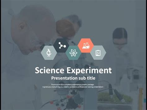 ppt templates for scientific presentation free science experiment animated ppt template youtube