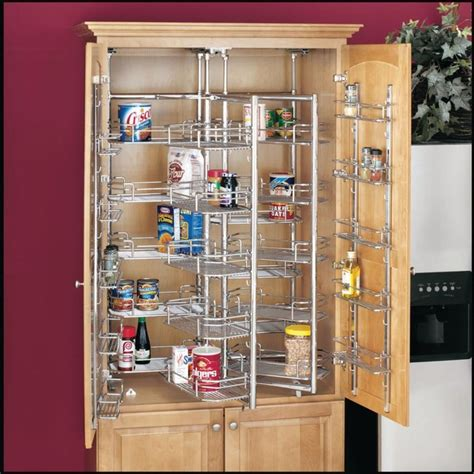 Kitchen Cabinet Storage Racks Kitchen Storage Ideas Pantry Cabinets Other Metro By Drawerslides