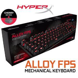Keyboard Hyperx Alloy Fps Mechanical Cherry Mx Hx Kb1rd1 Naa3 hyperx alloy fps mechanical gaming keyboard