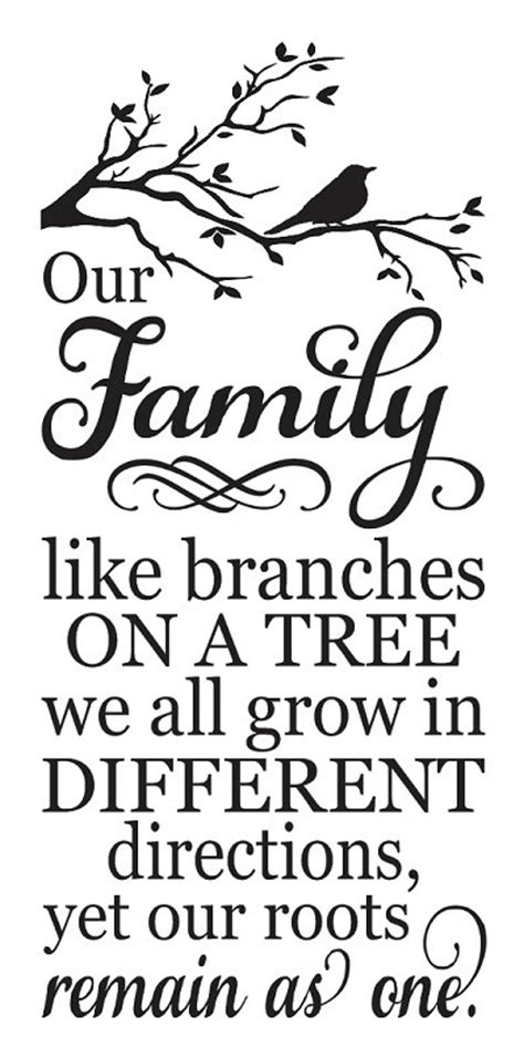 printable family tree stencil family stencil our family like branches on a by