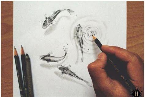 like drawing simple underwater look fish sketch
