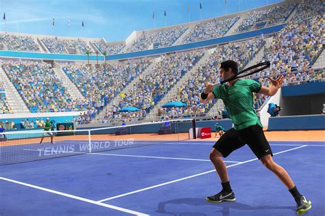 World Tour tennis world tour puts a top spin on the career mode polygon
