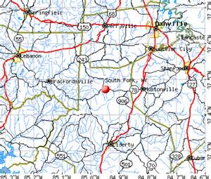 map of south fork colorado south fork kentucky ky 40437 profile population maps