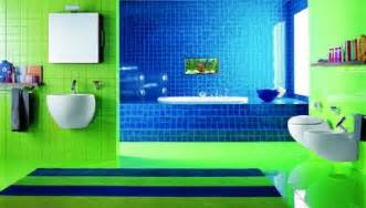 blue and green bathroom ideas 43 bright and colorful bathroom design ideas digsdigs