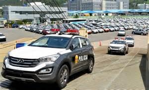 hyundai return policy new cars hyundai delivers 800 santa fe cars to the peruvian