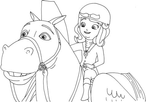 Sofia The First Coloring Pages Printable Tagged With Princess Sofia Coloring Pics