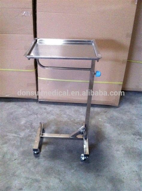 adjustable table with wheels dr 342 stainless steel adjustable tray tables with wheels